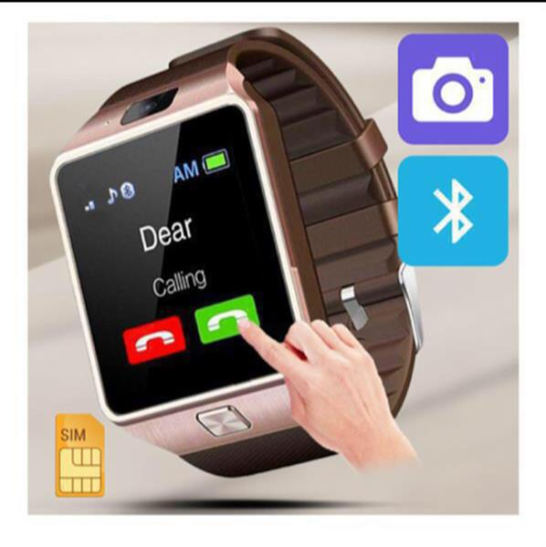 Used Smartwatch (rose gold color) Men/Women Bluetooth connectivity in Dubai, UAE