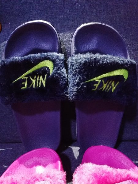 Used 2 pairs of kid slippers size 30 in Dubai, UAE