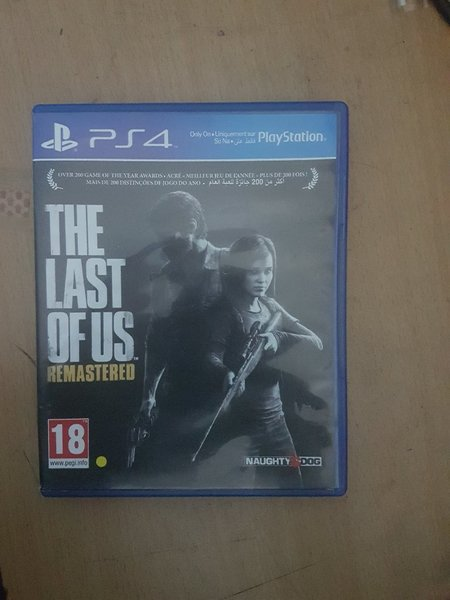 Used Last of us remastered/Used/PS4 in Dubai, UAE