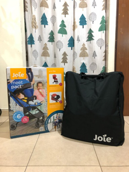 Used Joie meet pact lightweight stroller.  in Dubai, UAE