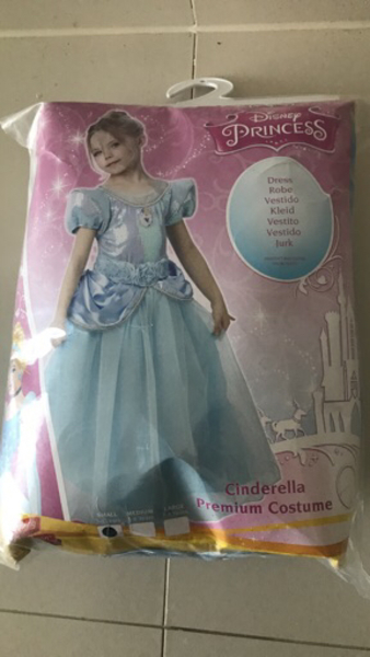 Used Cinderella Costume New 3-4yrsOld in Dubai, UAE