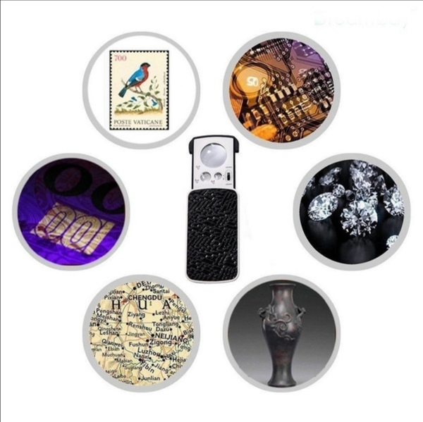 Used New jewelery & currency magnifier light in Dubai, UAE