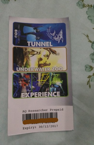 Used Dubai Aquarium & Underwater Zoo Ticket in Dubai, UAE