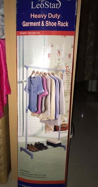 Used Garments stand and shoe rack in Dubai, UAE