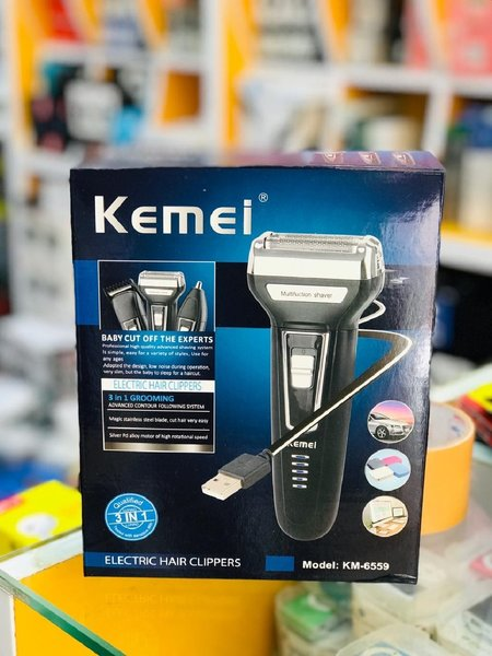 Used NEW KEMEI MEN HAIR GROOMING 3 IN1° in Dubai, UAE