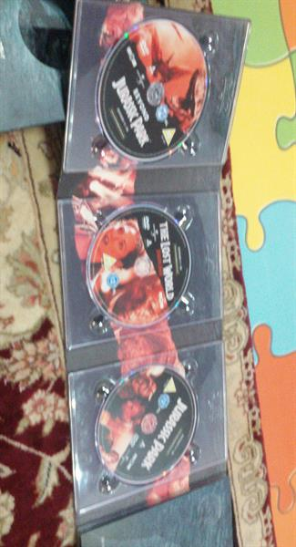 Used Jurassic park DVD. 3 Pcs in Dubai, UAE