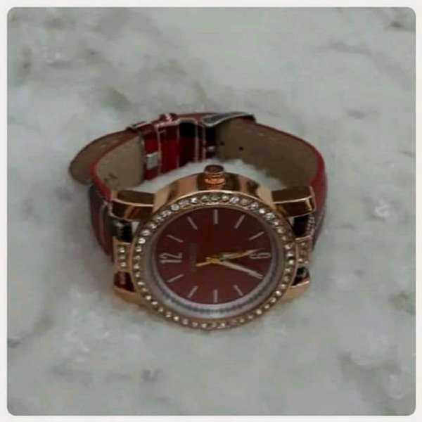 Used Cute red with brown watch fashion in Dubai, UAE