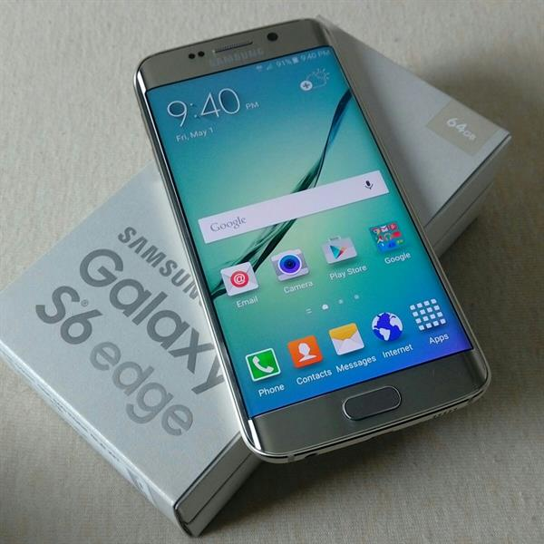 Used Galaxy 6 Edge Gold 64gb With Box Charger in Dubai, UAE