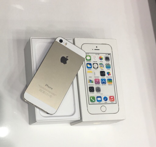 I phone 5s 16gb golden color