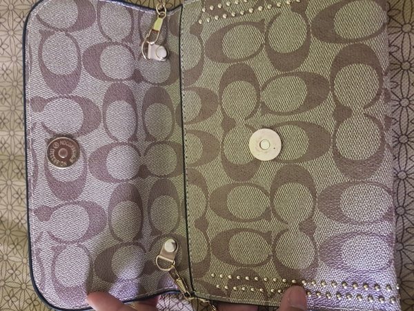 Used Coach mobile wallet/sling bag in Dubai, UAE