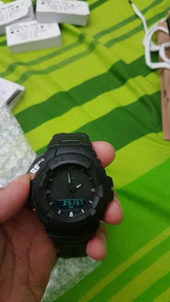OEM GSHOCK BLACK OUT EDITION