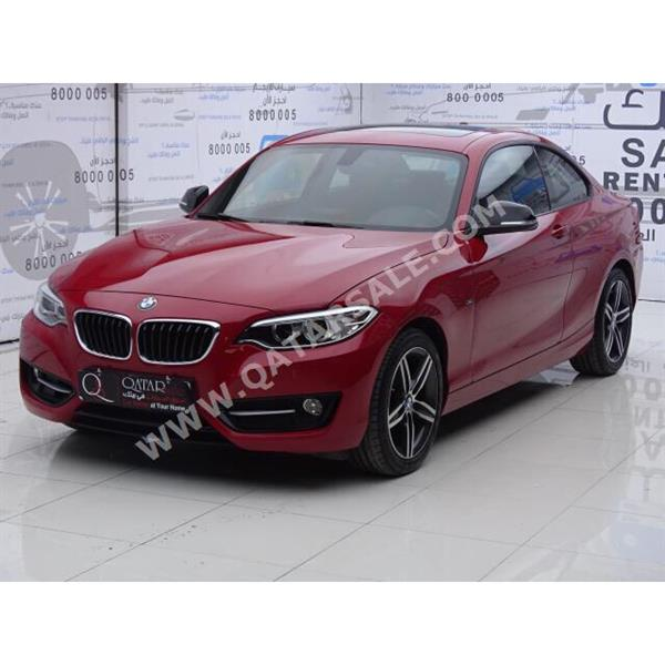 BMW 220i coupe 2016