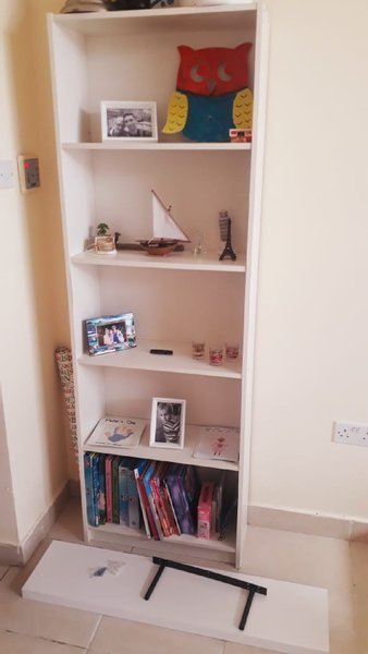 Used Book shelve + wall shelve in Dubai, UAE