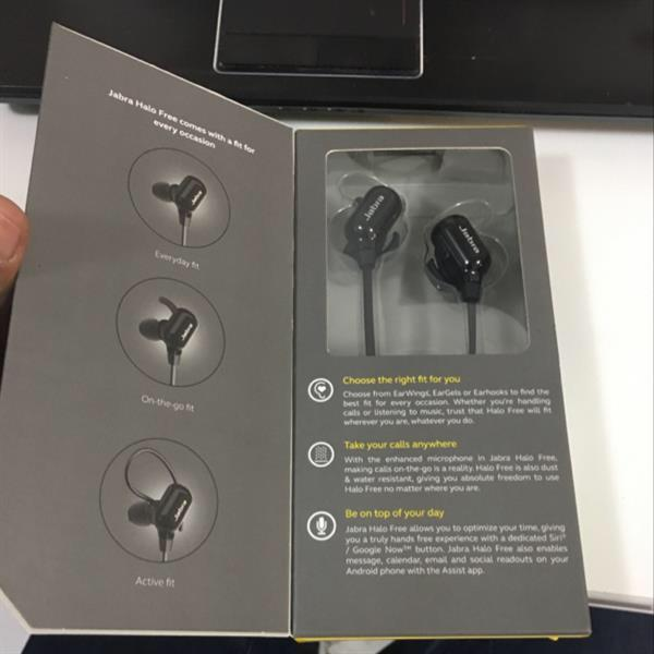 Used Jabra Halo Free Wireless Call N Music With Amazing Sound Black in Dubai, UAE