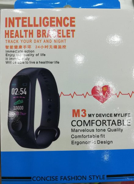Used M3 health bracelet brand new item in Dubai, UAE