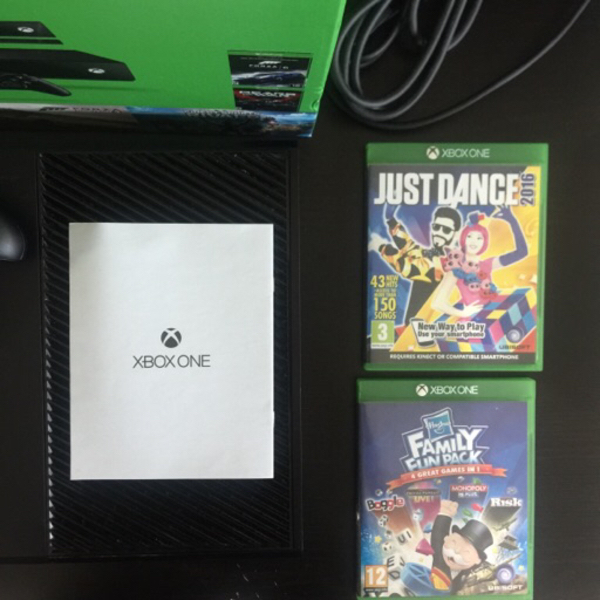 Used Xbox One 500GB + Kinect in Dubai, UAE