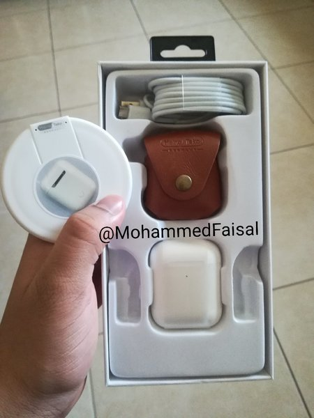 Used Pop2040 Pro German Airpods White color in Dubai, UAE