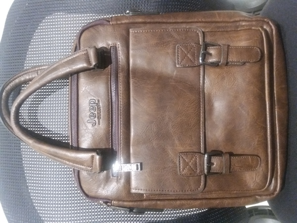 Used JEEP BULUO Fashion Leather Bag in Dubai, UAE