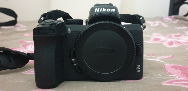 Used Nikon Z50 with accessories for sale in Dubai, UAE
