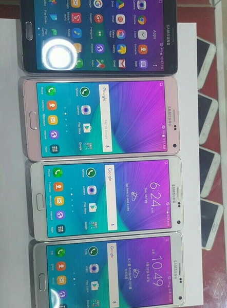 Used Samsung Note4 Mix Color 32gb Organal    in Dubai, UAE