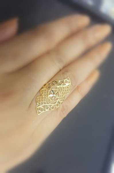 Used 18 Karat Italy Gold Ring in Dubai, UAE