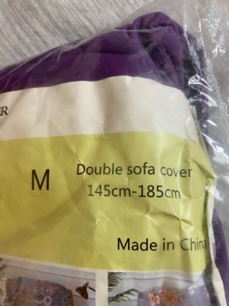 Used Purple sofa cover in Dubai, UAE