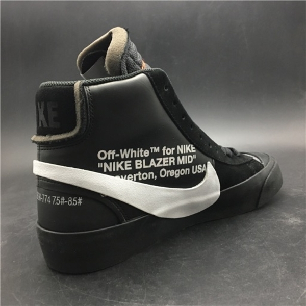 Used OFF WHITE X Nike Blazer Mid Black in Dubai, UAE