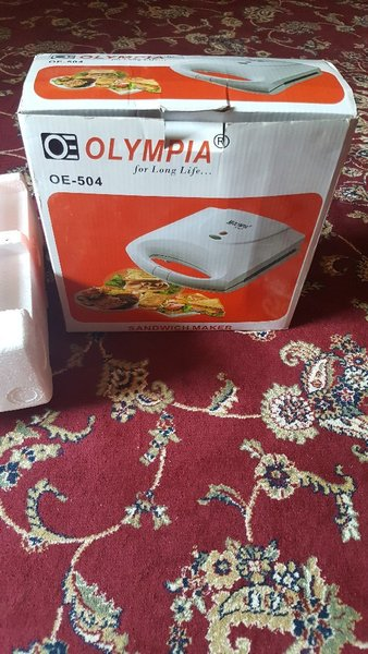 Used Brand new OLYMPIA SANDWICH MAKER in Dubai, UAE