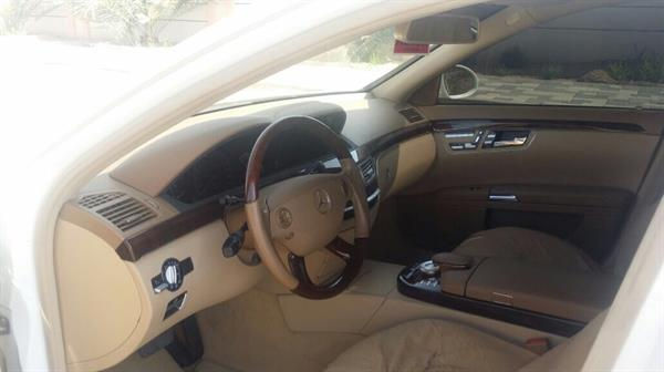 Used Mercedes S500 White GCC Model 2009 My Own Car in Dubai, UAE