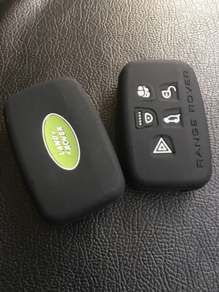 Used LandRover silicone key cover in Dubai, UAE