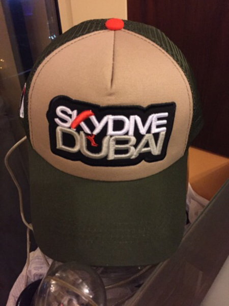 Used Authentic sky dive cap with tags in Dubai, UAE