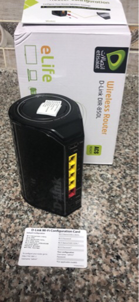 Used Wifi Router - D Link in Dubai, UAE