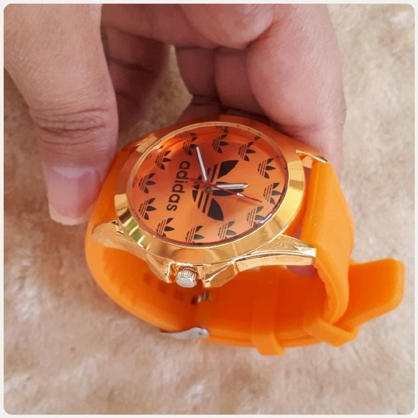 Used Orange watch ADIDAS in Dubai, UAE