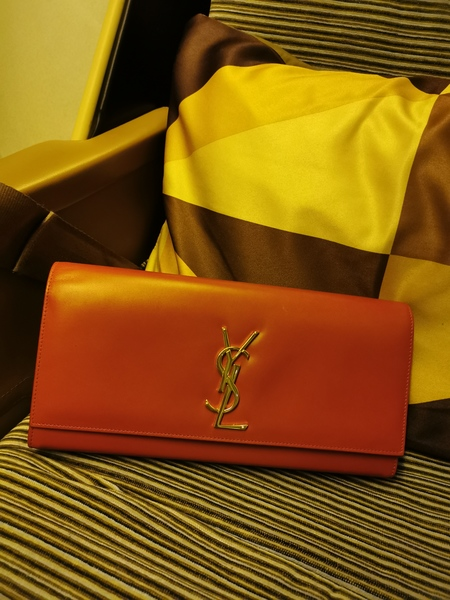 Used Authentic YSL Cassandre Clutch / GHW in Dubai, UAE