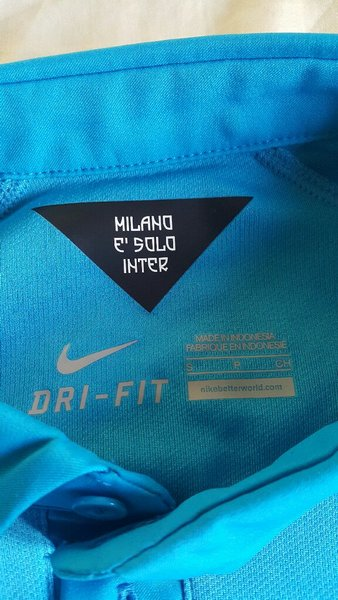 Used InterMilan FC 2014 Nike Original Jersey in Dubai, UAE