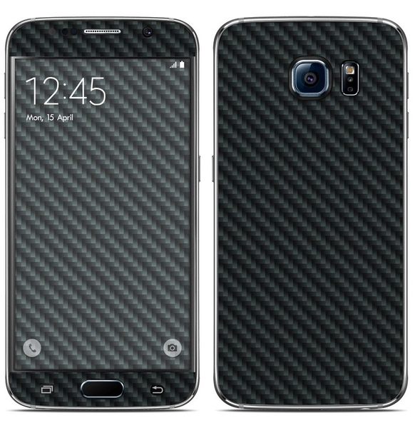 Used Samsung S6 Carbon Fibre Skin  in Dubai, UAE