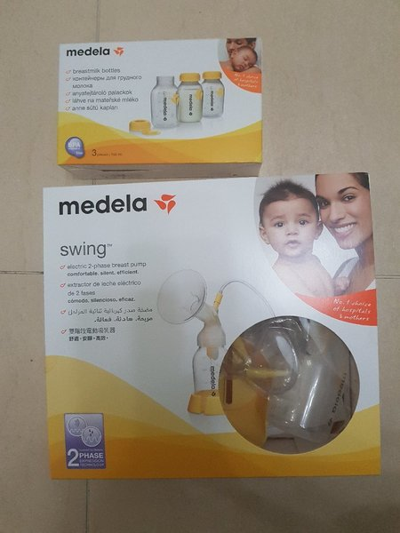 Used Medela swing Electric breast pump in Dubai, UAE