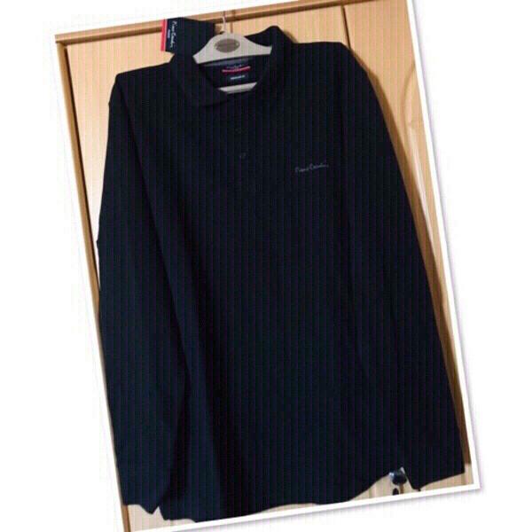 Used Pierre Cardin Long Sleeve/ XXL BLACK 💙 in Dubai, UAE