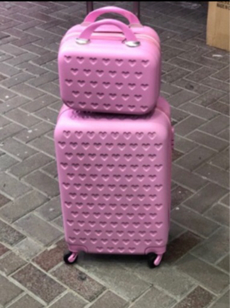 Used Hand carry trolley bag with beauty case  in Dubai, UAE