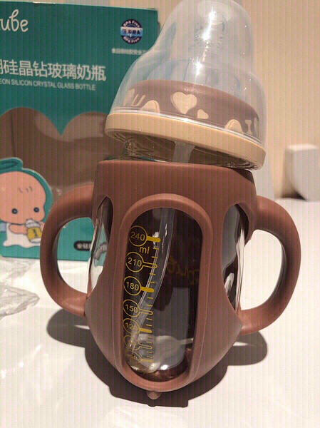Used Baby anti fall bottle brown teddy in Dubai, UAE