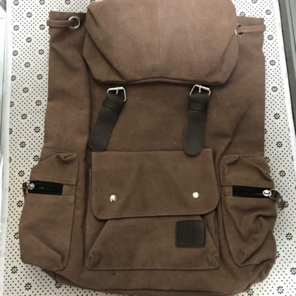Used Canvas material hiking picnic backpack in Dubai, UAE