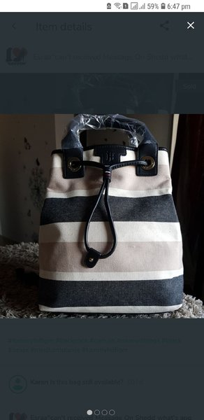 Used Tommy hilfiger backpack new in Dubai, UAE