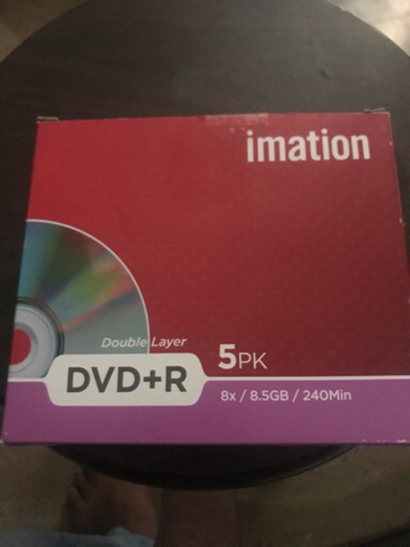 Used imation DVD+R DL 8.5 Gb in Dubai, UAE