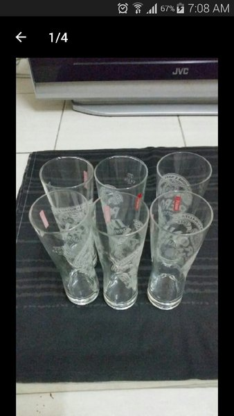 Used 6 Pcs Beer Glass With Box in Dubai, UAE