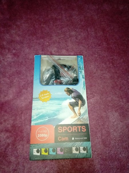 Used Water proof sports cam in Dubai, UAE