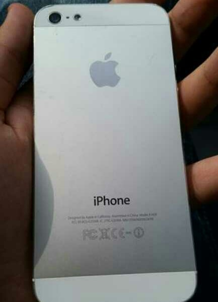 Used Apple iPhone 5 white 32GB in Dubai, UAE