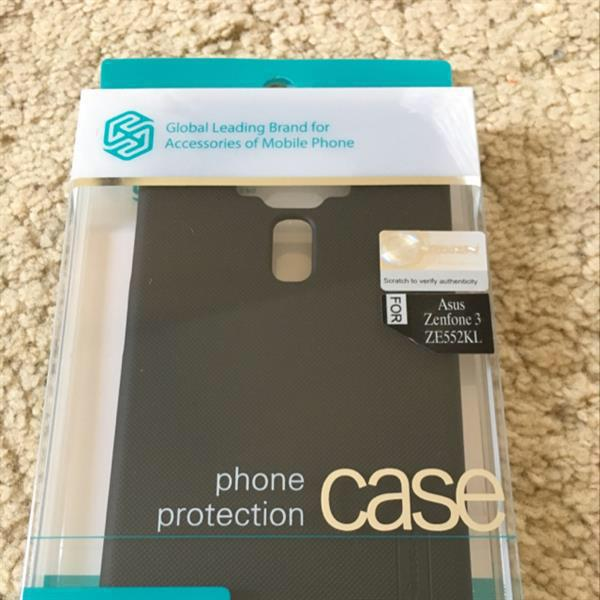 Nillkin Asus Zefone 3 Back Cover Black With Screen Guard