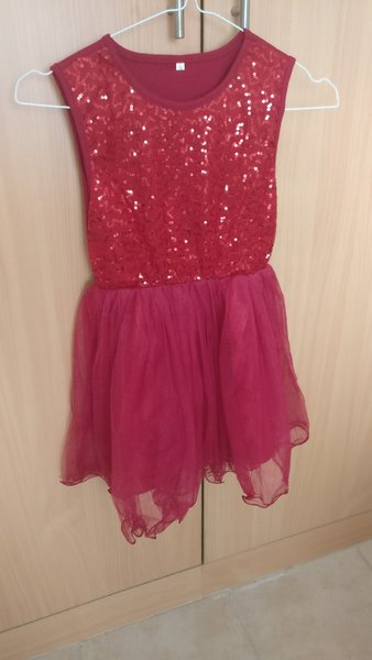 Used New Red sequence dress in Dubai, UAE