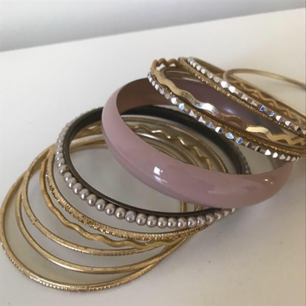 Used Stackable Bangles. Used Few Time Only.  in Dubai, UAE