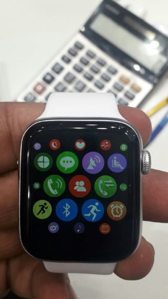 Used Smart watch with all features white in Dubai, UAE